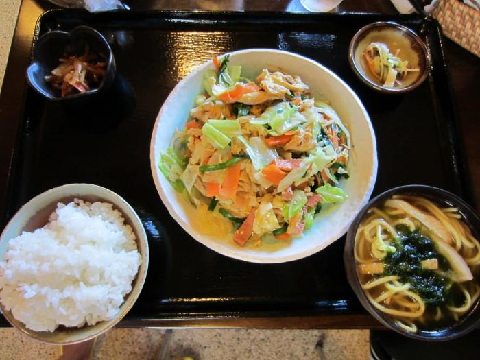 選べるランチ☆フーチャンプル定食