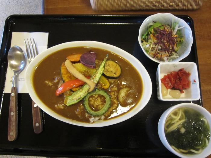 選べるランチ☆島野菜カレー